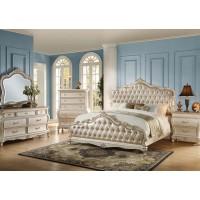 ACME Chantelle Pearl White 5pc Bedroom Set
