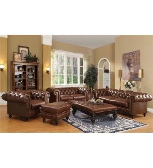 ACME - Shantoria dark brown bonded leather