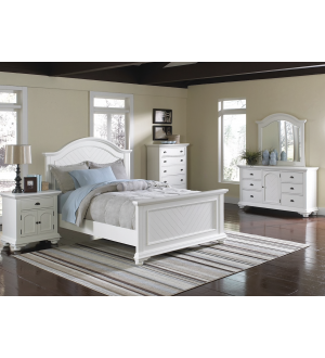 ACME-Brooke 6pcs Queen Size Bedroom Set