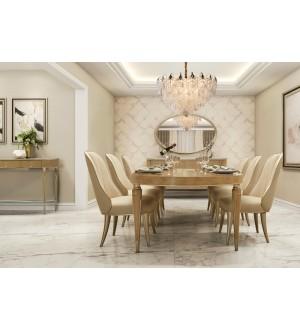 Amini VILLA CHERIE Oval Dining Collection