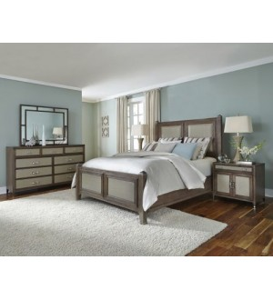 Amini- Biscayne West Haze Bedroom Set
