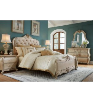 Amini- Lavelle Cottage Bedroom 7pcs Set