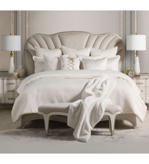 Amini -London Place Bedroom Collection-Upholstered Panel Bed