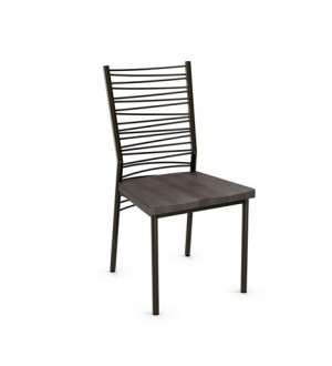 Amisco Crescent Chair (wood)