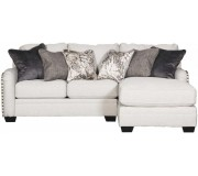 Ashley Dellara Collection LAF Loveseat + RAF Chaisr