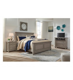 Ashley Lettner  Panel Bed
