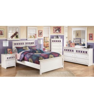 Ashley-Zayley Double Bedroom Set