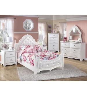 Ashley Exquisite Double Bedroom Set-6pcs