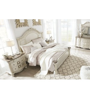 Ashley Cassimore Bedroom Bed+Nightstand