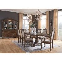 Ashley Furniture Charmond Collection-Diningroom Set (9pcs)