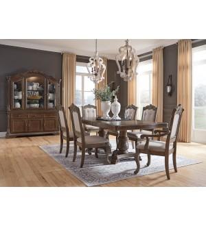Ashley Furniture Charmond Collection-Diningroom Set (9pcs)