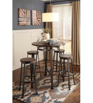 Ashley Challiman Dining Table and 4 Chairs