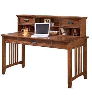 Ashley Cross Island 2-Piece Home Office Large Desk with Low Hutch