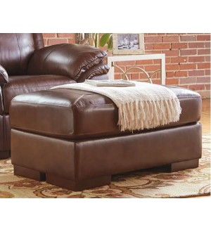 Ashley Islebrook Ottoman-Leather