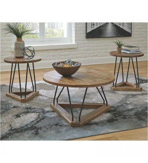 Ashley T261 Frielone Table-Set of 3