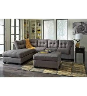 Ashley-The Maier Collection Charcoal 2-Piece Sectional Sofa