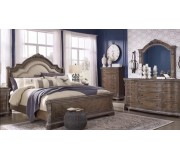 Ashley-Charmond Collection Upholstered Bedroom