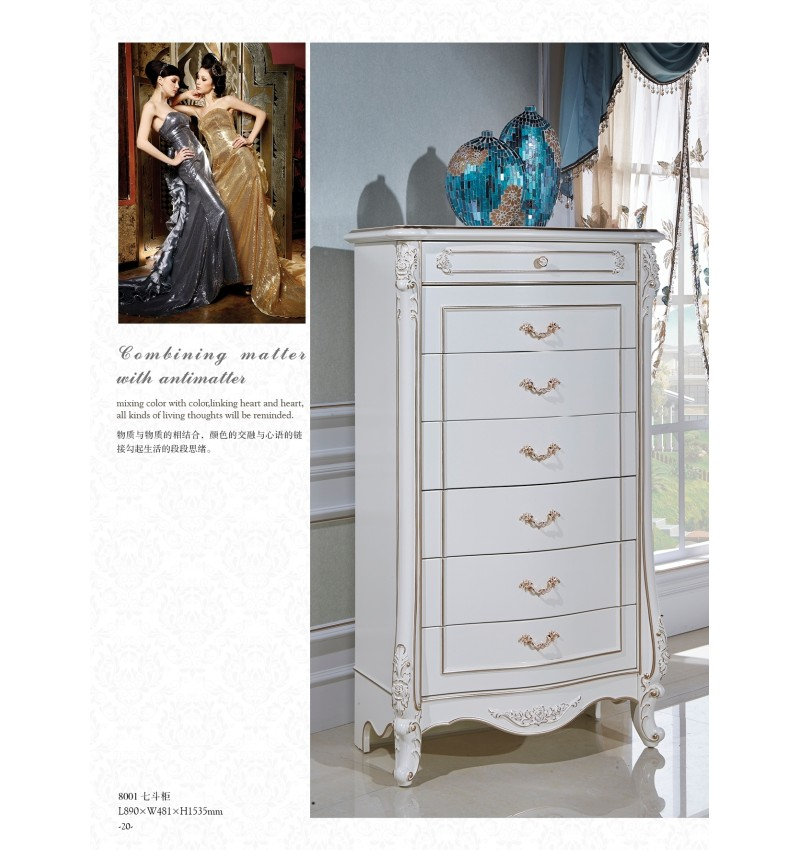 8001 7 drawers chest