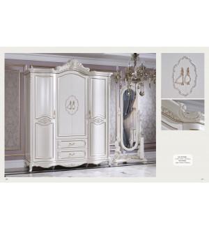 8010 4 doors closet / 8009 mirror