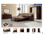 Miss Itlia 7pcs Bedroom set Queen