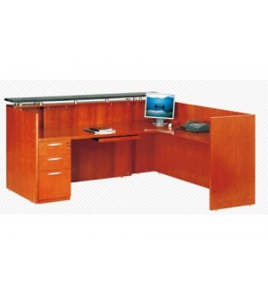 A002 RECEPTION STATION WITH GRANITE TOP 79""