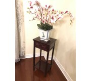 Rose Wood Flower Stand