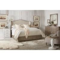 AHK - Modern Romance Upholstered Shelter Bed