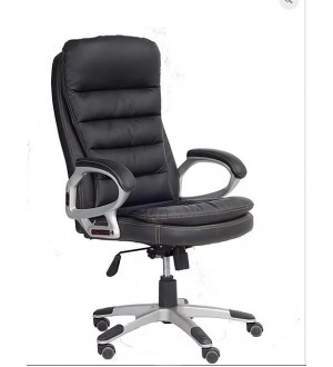 IF-PU Black Office Chair