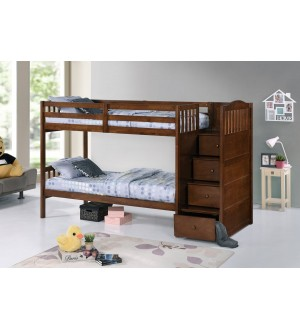 IF-B5905 Bunk Bed w/ Staircase