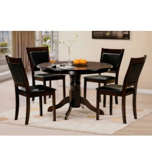 IF-5pc Dinette Set in Espresso Colour
