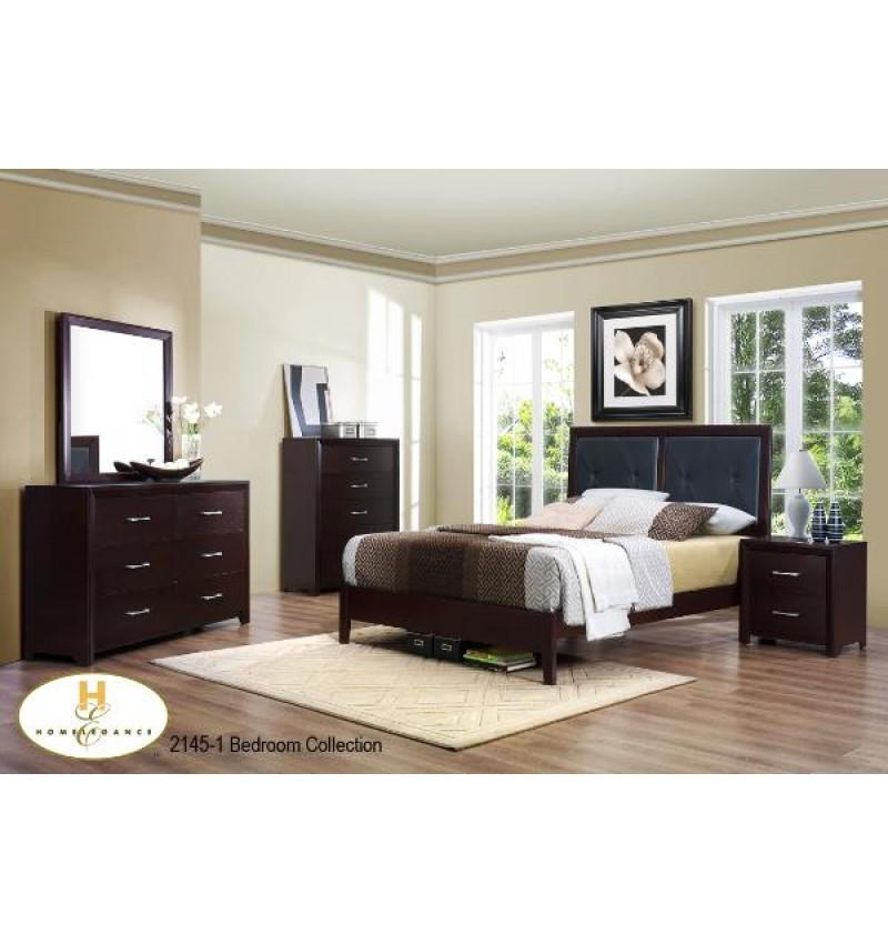 Mazin 2145 Queen 8pc Bedroom set