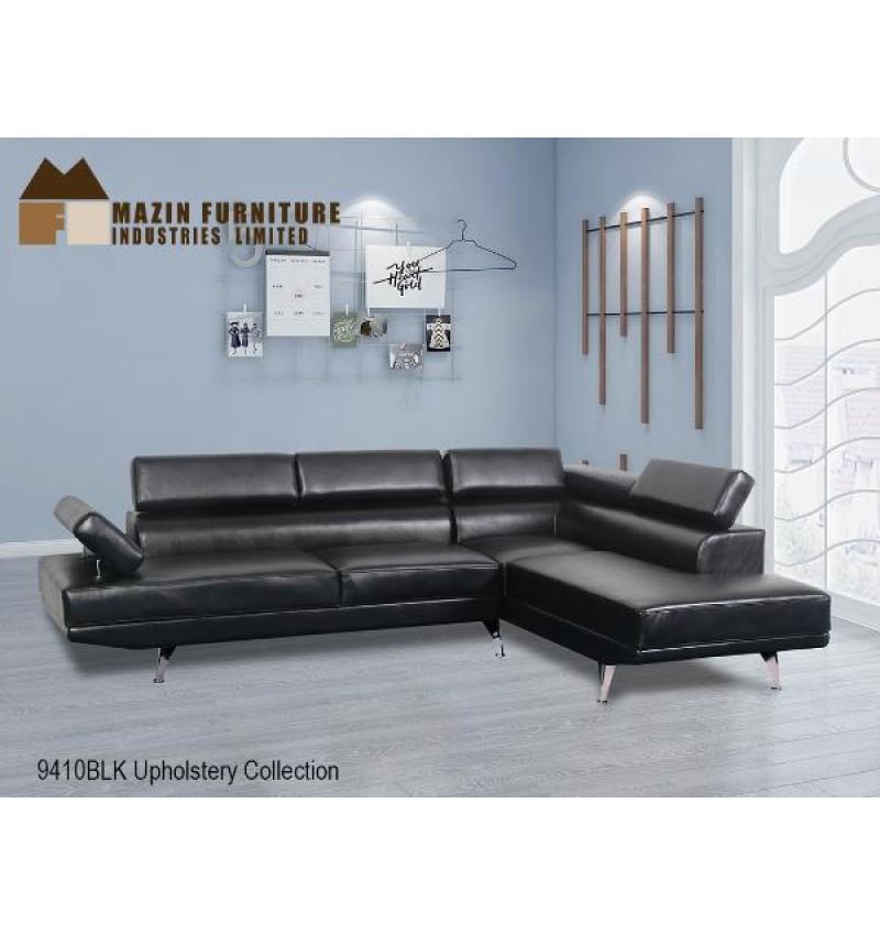 Mazin 9410BLKSS Sofa