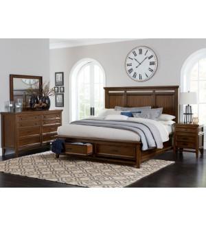 Mazin 1649 Frazier Park Bedroom set-8pcs