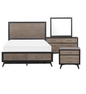 Mazin 1711 Raku Bedroom Collection