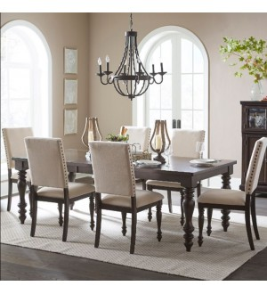 Mazin 1718GY Dining-Begonia Collection