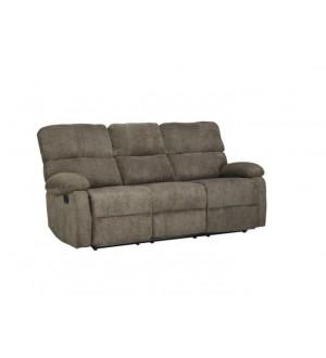 Mazin 9520BRW Double Reclining Sofa