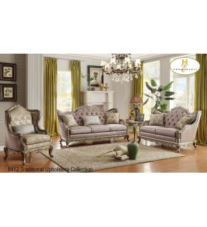 Mazin-Florentina Collection-Livingroom Set(3pcs)