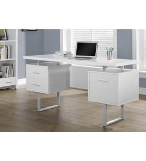 Monarch I 7081 Desk with Drawers
