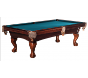 Beringer Princeton 8' Pool Table-Walnut Color