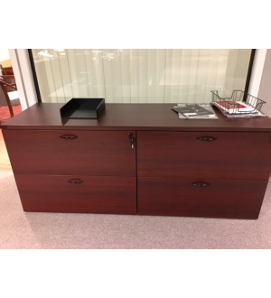 AOSP Double Lateral File Credenza 71x23