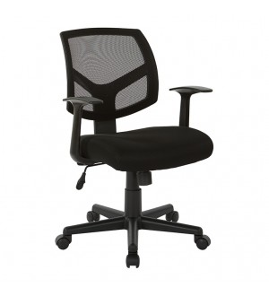 AOSP Screen Back Task Chair - Black Fabric Seat
