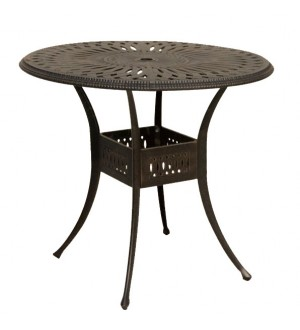 "OnSight Maxwell 42"" Round Dining Bar Table"