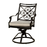 OnSight Maxwell Swivel Rocker Chair With Cushion