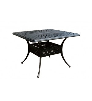 "OnSight Ophelia 42"" Square Dining Table"