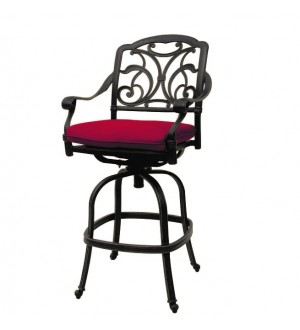 OnSight Ophelia Bar Stool With Cushion