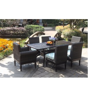 OnSight Pastiche Rect.Dining Set-7pcs