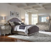 PU- Rhianna King Bedroom 5pcs Set