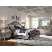 PU- Rhianna King Bedroom 5pcs Set