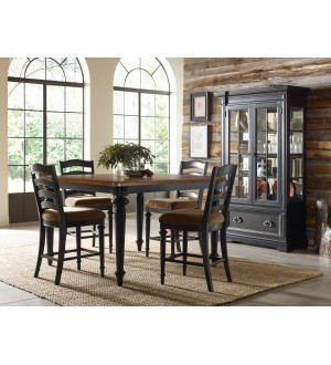 PU- Arrow Ridge The counter height dinning set