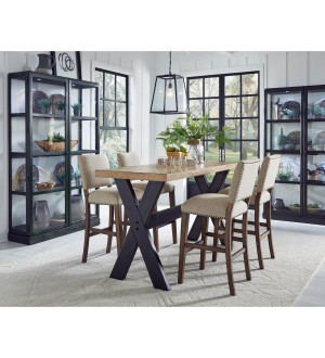 PU- The Art of Dining Counter dinning Set